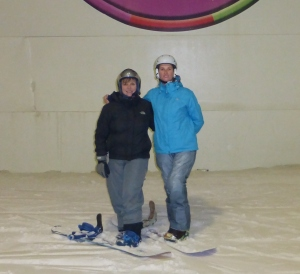 Ann-Marie & myself Cas