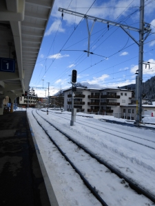 Davos train station