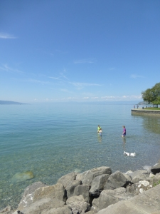 'Beach' on Lake Geneva