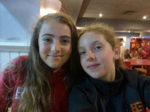 Elene and Freya